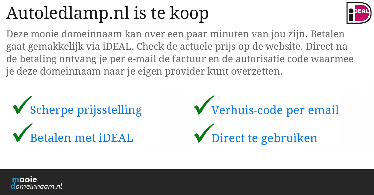 (c) Autoledlamp.nl